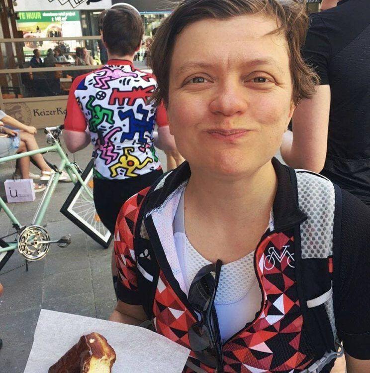 Sofie Verhalle eet ook graag voor, tijdens en na een rit
