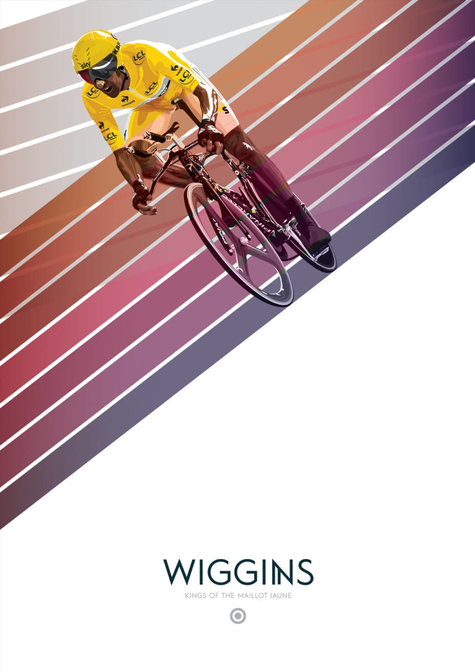 KINGS OF THE MAILLOT JAUNE - WIGGINS
