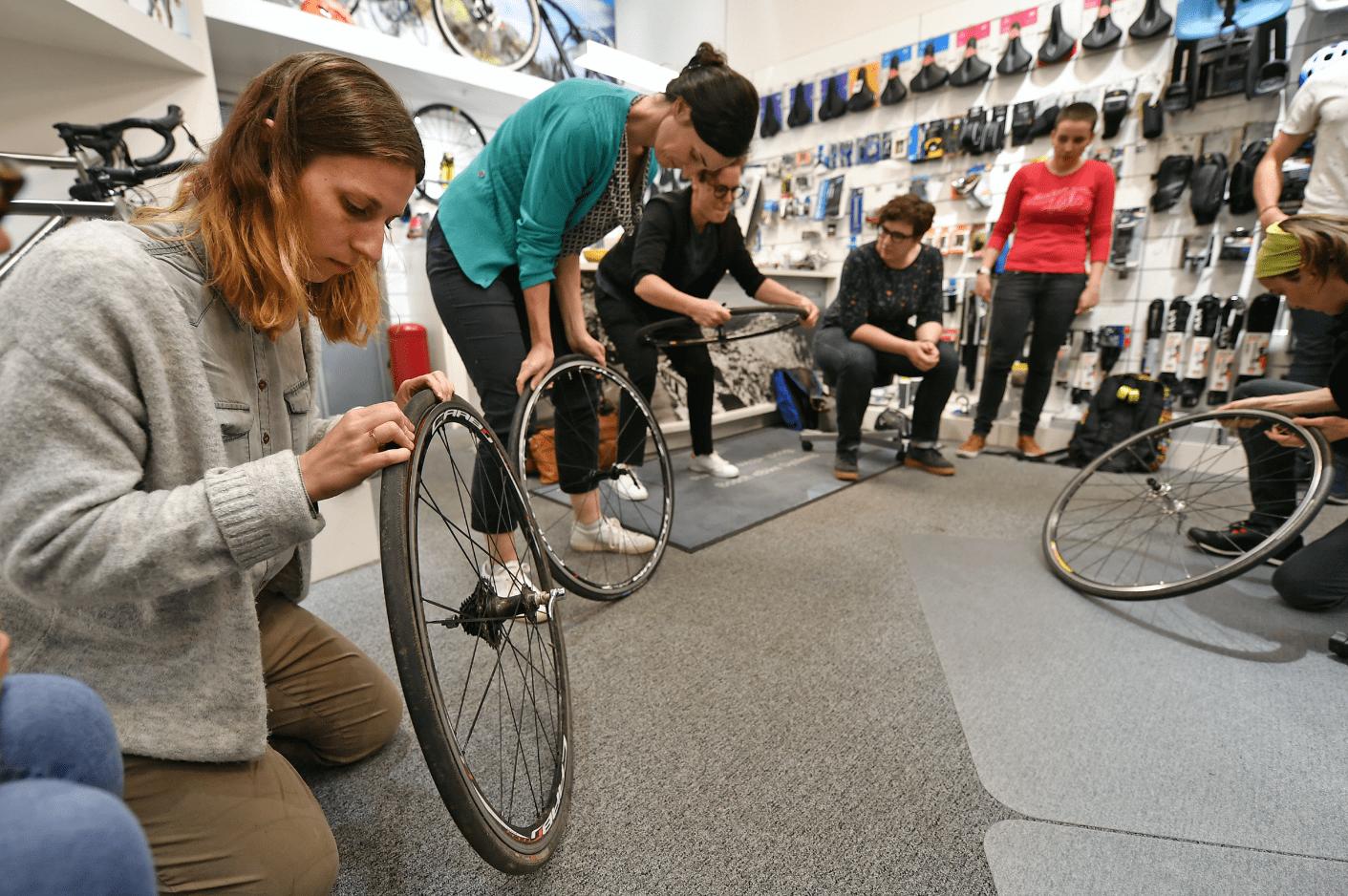 Vrouwen op de fiets? Klimmen aan 20%!